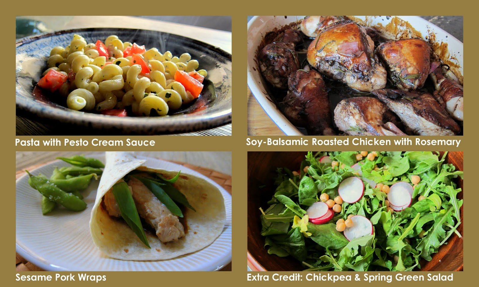 Easier Simpler Better Weekly Menu: family friendly dinners with bold flavors