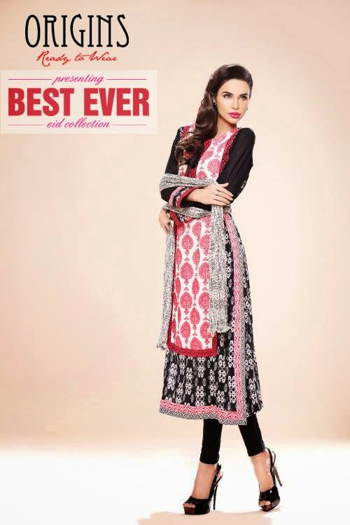 Ready To Wear Eid Dresses For Girls And Women By Origins From 2014 ...