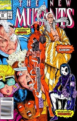 New Mutants #98 comic image