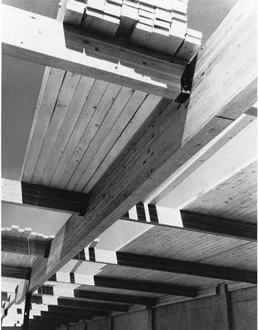 Large beams heavy timber engineering and construction for Tongue and groove roof decking