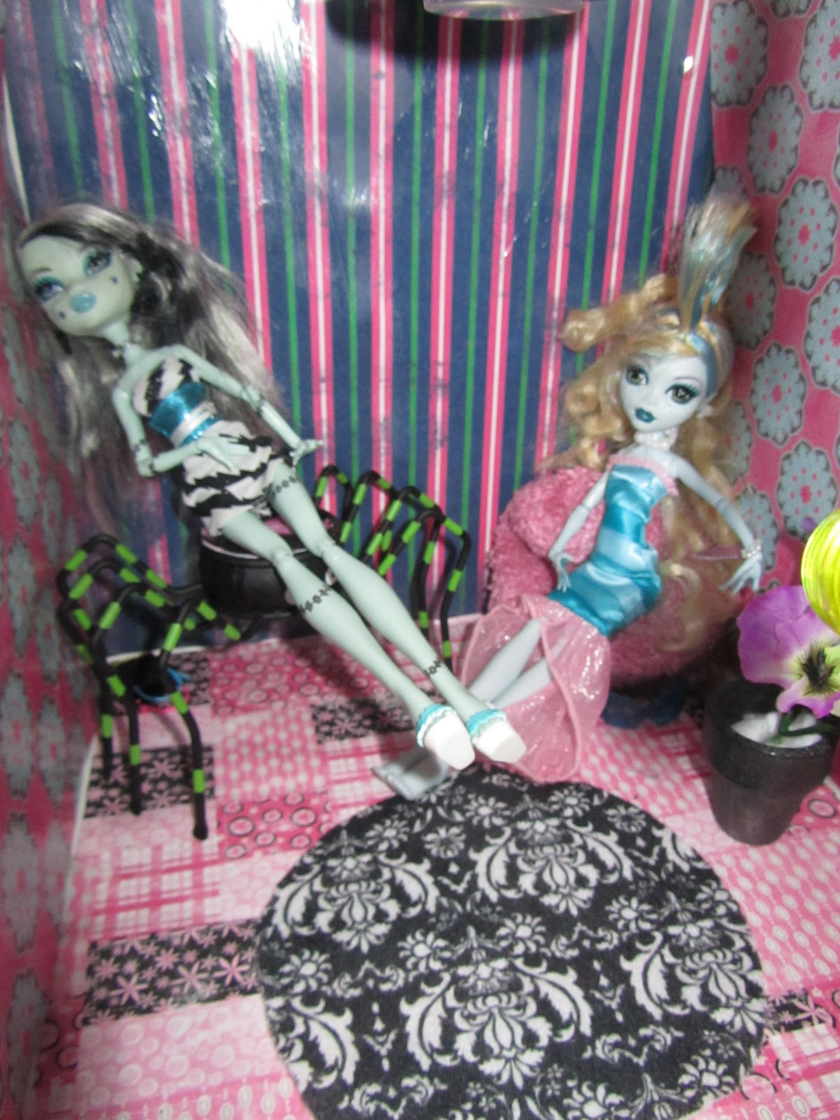 Why Buy When You Can DIY Monster High House