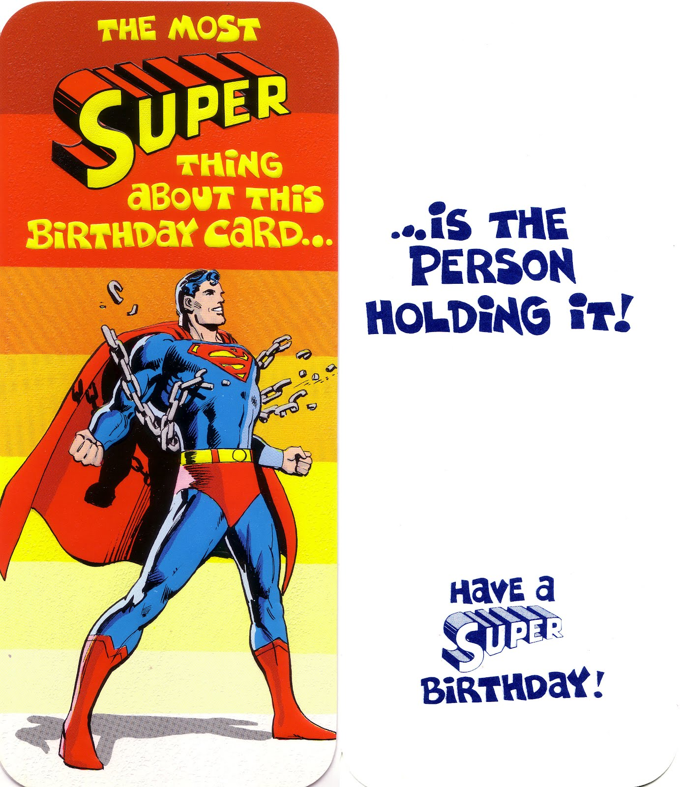 My Comic Board Banners And More Superman And Dc Greeting Cards 4