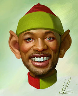 Gambar Karikatur Will Smith Artis Hollywood