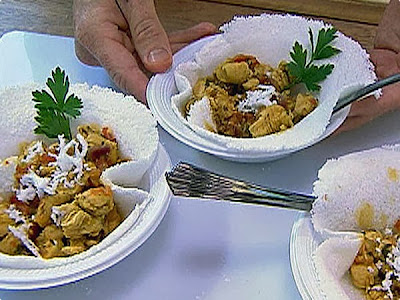 Frango ao curry com legumes