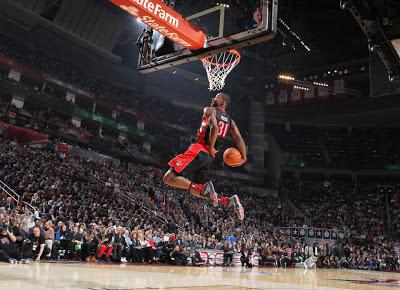 terrence ross slam dunk contest nba 2013 vince carter