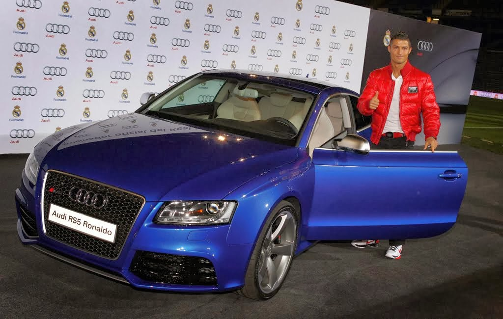 Awesome Car Collections Cristiano Ronaldo LK Performance