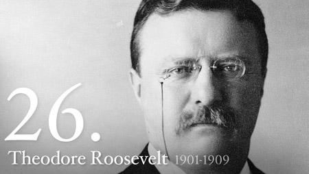 THEODORE ROOSEVELT 1901-1909