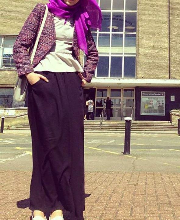 Jupe longue pour femme voilée