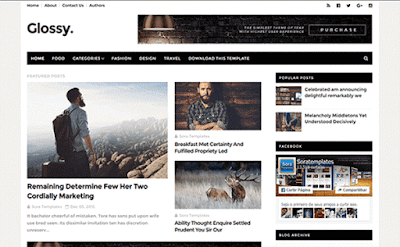 glossy-blogger-template
