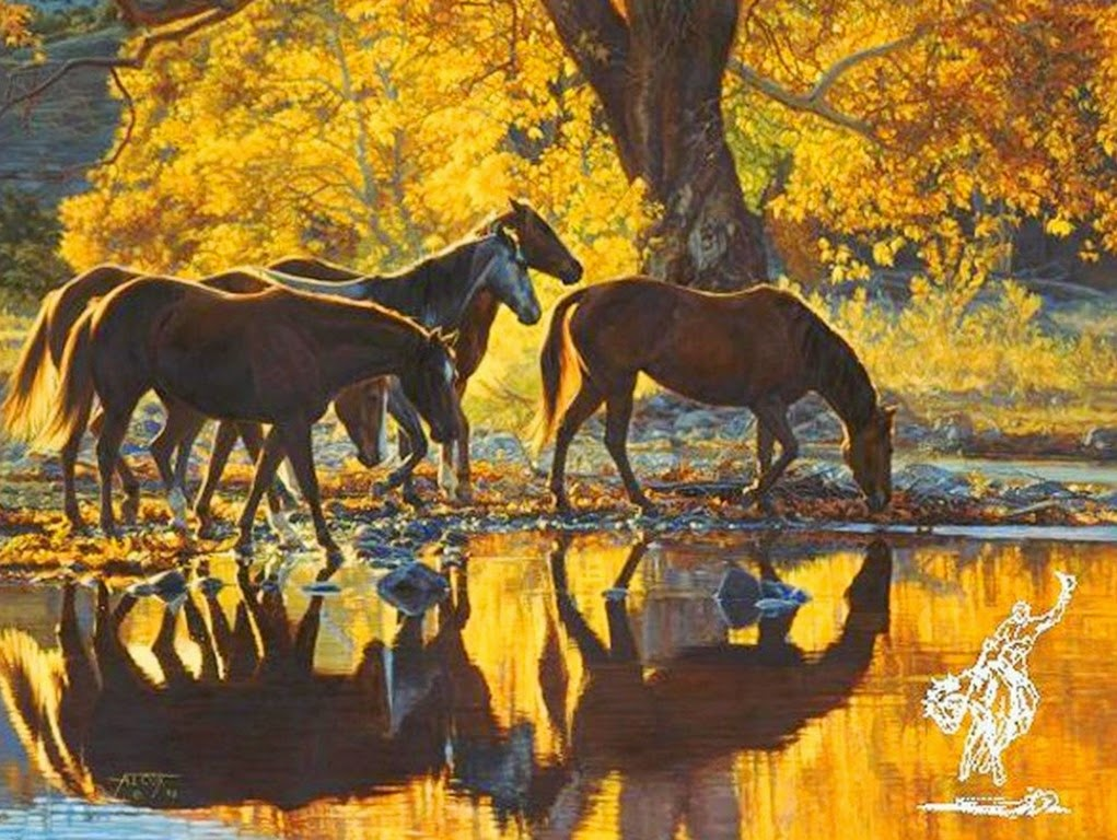caballos-en-paisajes-pinturas