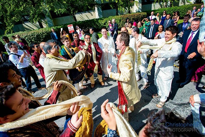 Chicago Baraat Hindu Wedding Ceremony