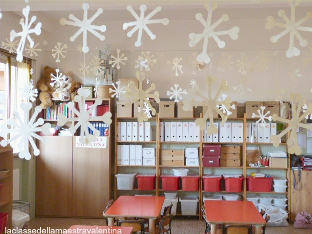 La classe della maestra valentina tanti fiocchi di neve for Maestra valentina accoglienza