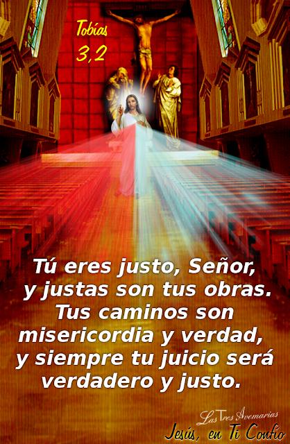 imagen de jesus con tobias 3,2