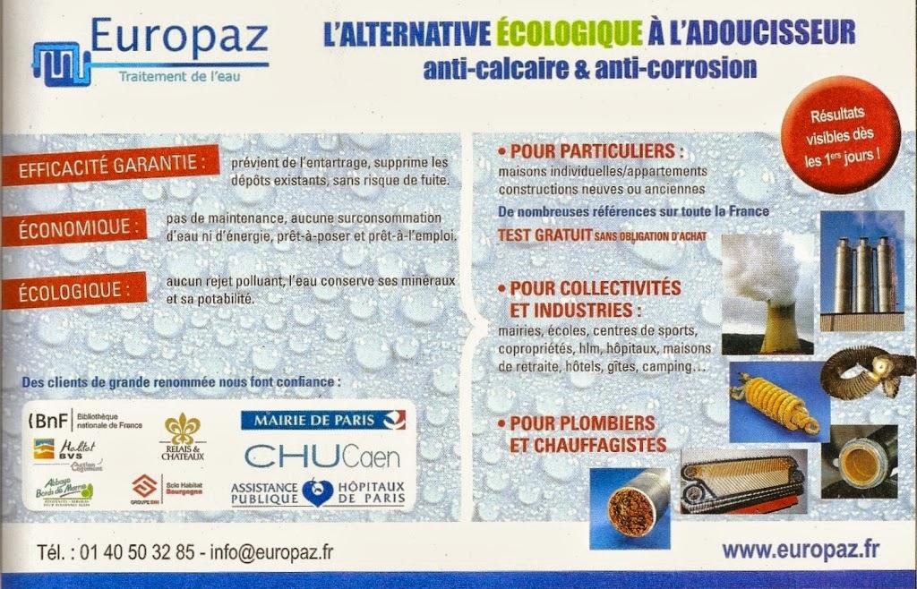 Publicité Europaz dans le magazine Natura Maison n°6 septembre octobre 2014