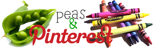 peas and crayons pinterest button