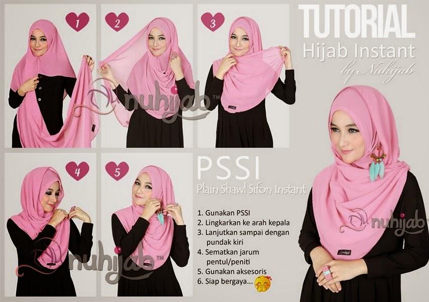 Model 3. Tips Hijab Chiffon Modern Terbaru untuk Pesta image