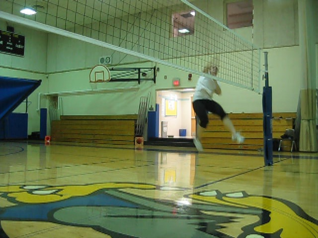 movement analysis of a volleyball block Analysis of jumping in the spike, block and set skills of female volleyball  and without approach block jumps with and without step movement and set jumps.