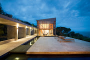 That luxury beach house has been designed to create a place of retreat and .