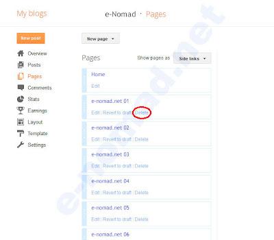Cómo crear más de 20 páginas en Blogger ?
