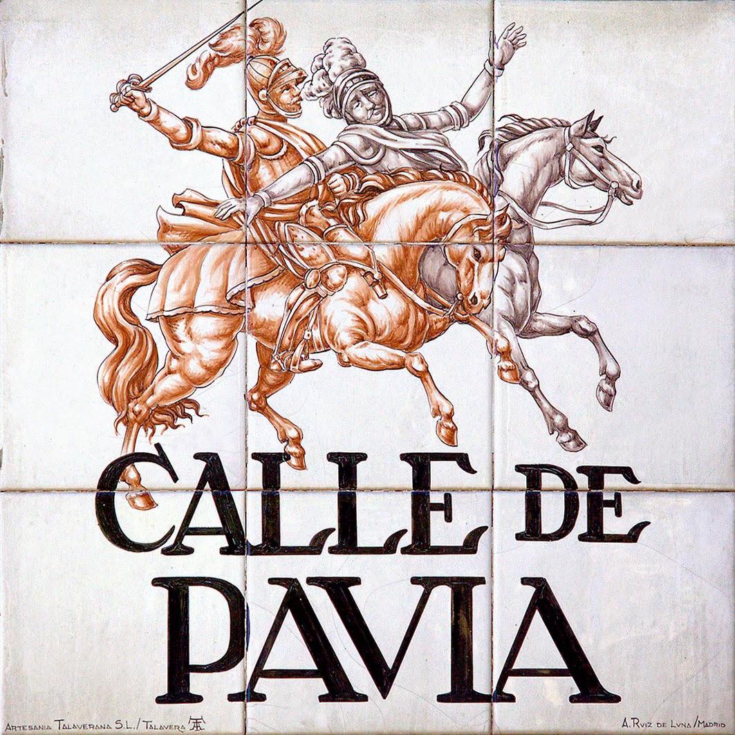 Calle de Pavía