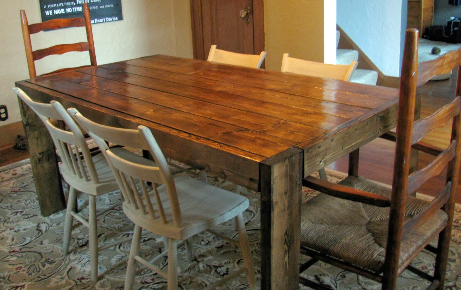 build your own dining room table