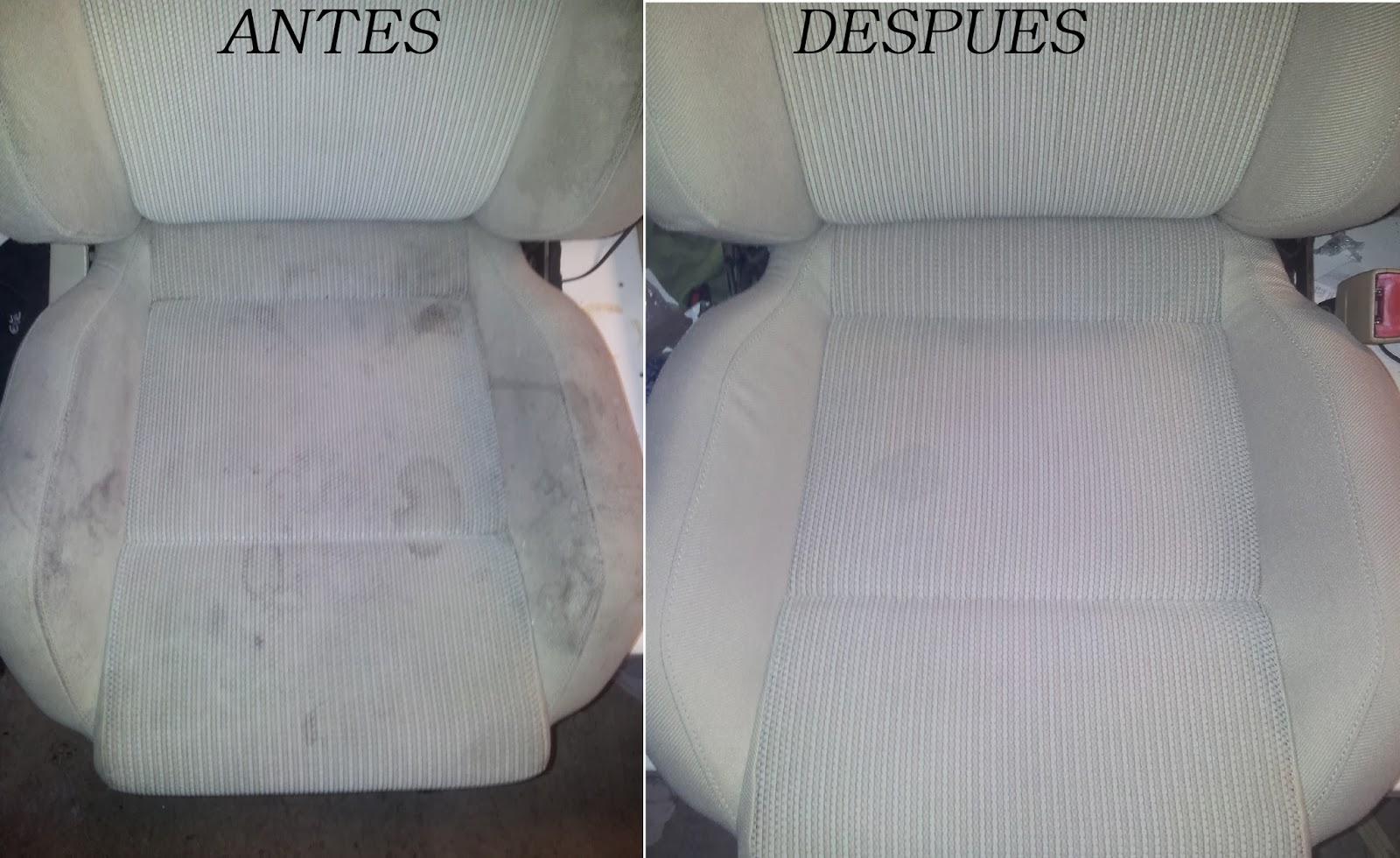 Como Quitar Manchas De La Tapicer A Del Coche  ~ Limpiar Tapicerias Con Amoniaco