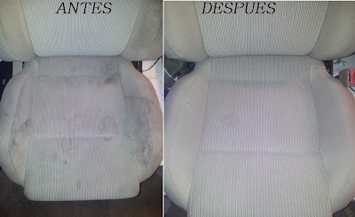 TAPICERIA GOLF IV ANTES Y  DESPUES