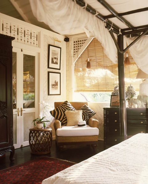 British Colonial Bedroom Decor