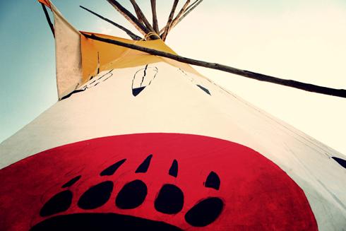 traditional teepee medicine hat alberta photography