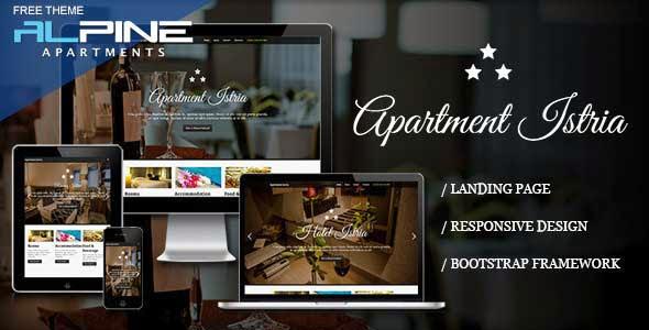 Apartment Istria – Responsive Landing Page
