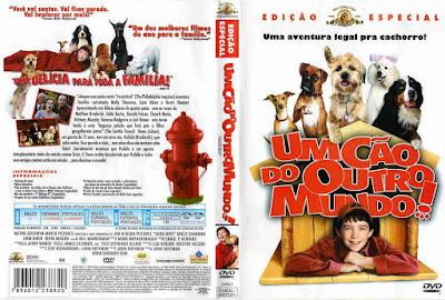 Filme Um Cão do Outro Mundo DVD Capa