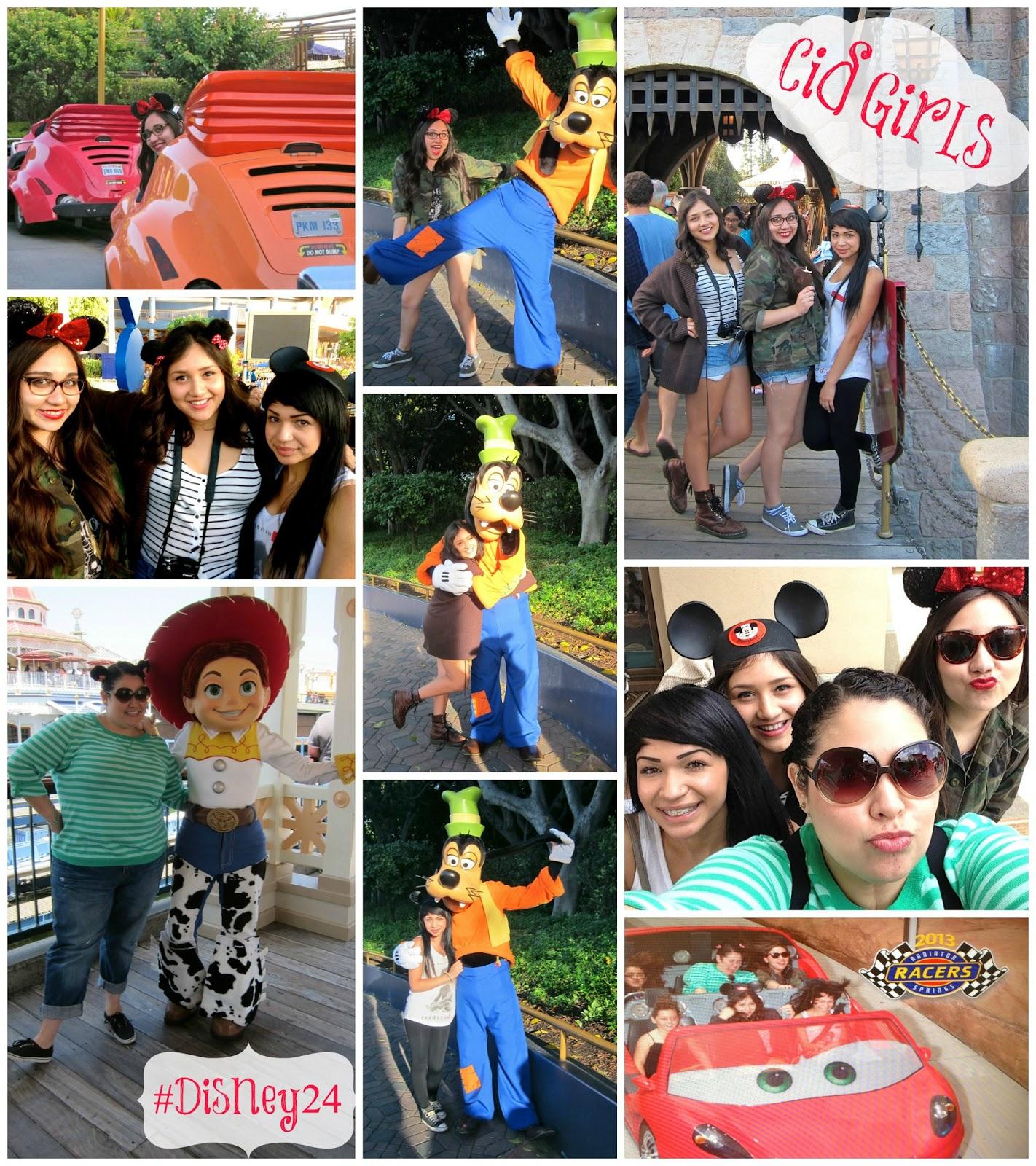 disneyland, monstrous summer, disney24, cid girls, jessie, goofy, mickey, california adventure, may 24, 2013,