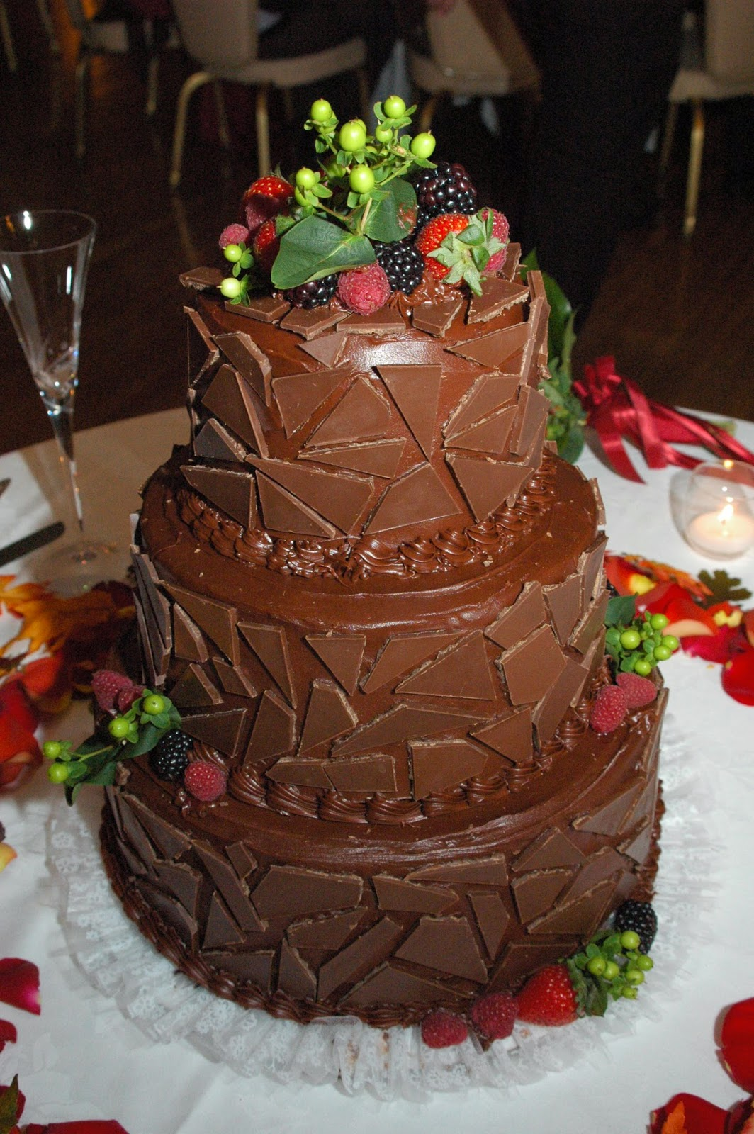 C\'ville Sweets: Happy Anniversary to Us: The Wedding Cake