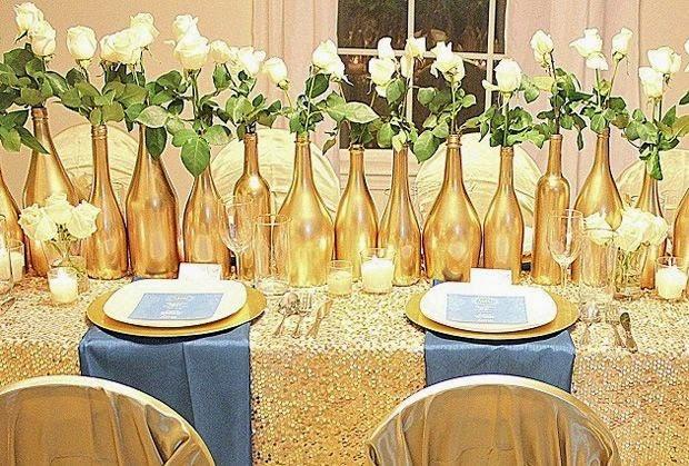 decorar ouro branco:Ideias simples para decorar a mesa de natal – Jeito de Casa – Blog