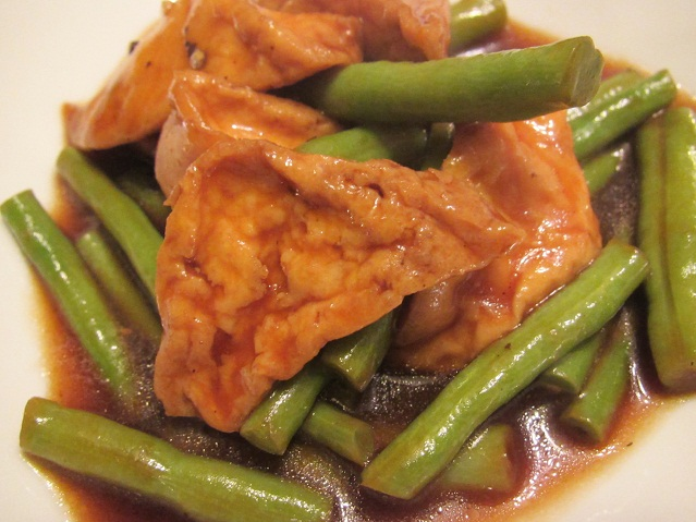 Chinese Long Bean with Tofu
