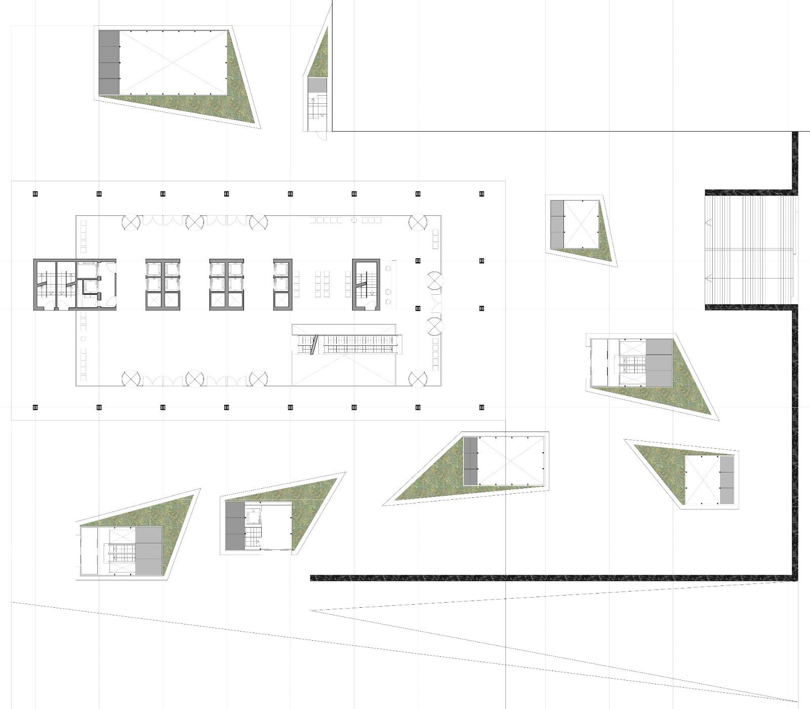 Giovanni olcese edificio de viviendas oficinas y - Planta baja en ingles ...