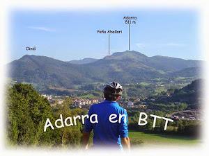 Cumbre del Adarra 811 m