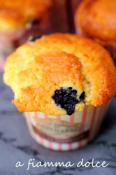 muffins ai mirtilli..la ricetta perfetta!