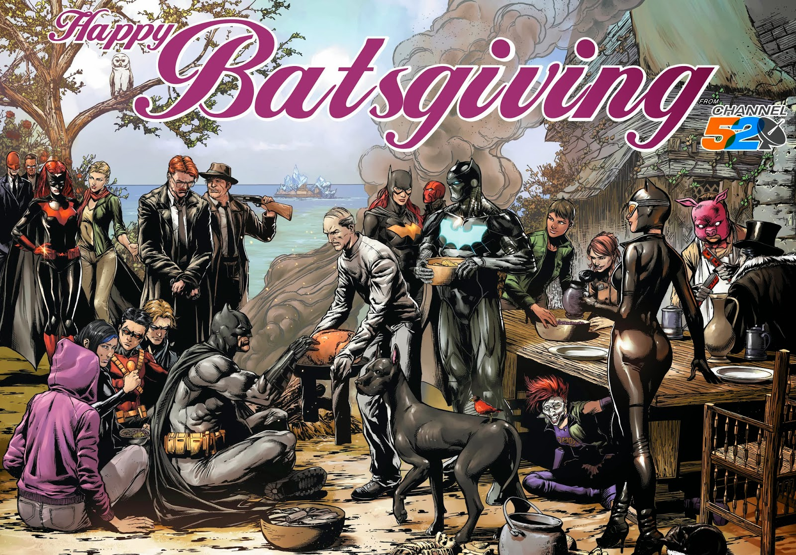 A Batman Thanksgiving