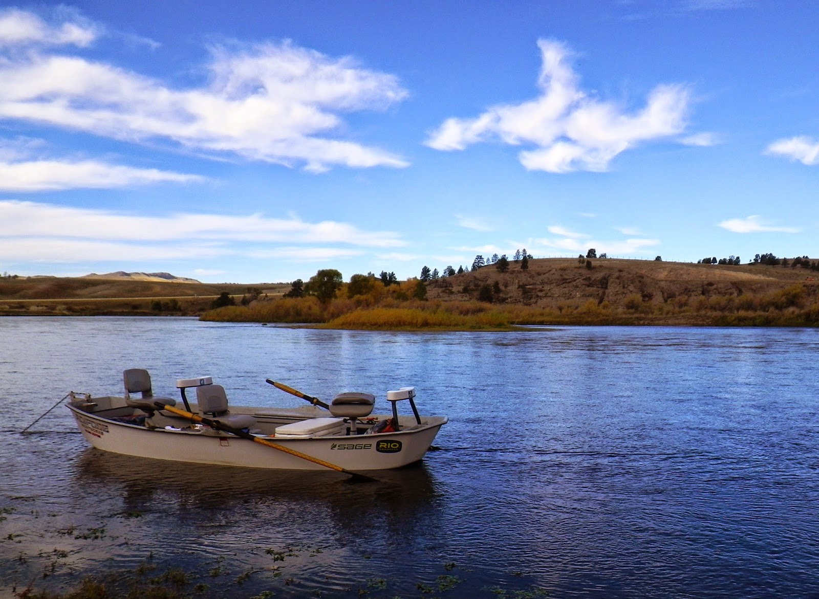 Gorge fly shop blog winston microspey takes on the mighty for Missouri river fly fishing
