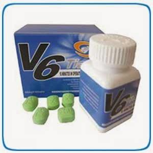 Obat V6 Tian Tianxiong Suplemen Stamina Sex