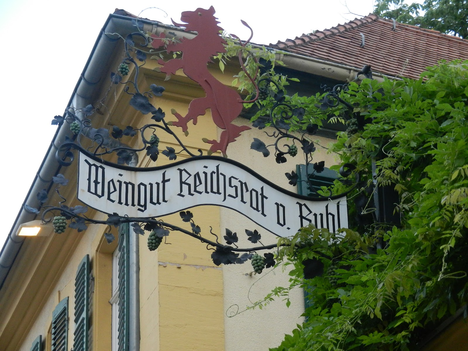Deidesheim Germany  city pictures gallery : ... Dinner at Weingut Reichsrat von Buhl in Deidesheim, Pfalz, Germany