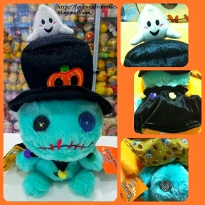 2007 JAPAN DISNEYLAND HALLOWEEN SCRUMP+GHOST