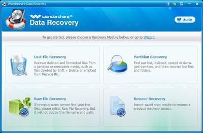 Download Wondershare Data Recovery 4.8.2.1