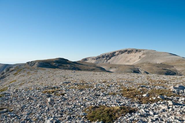 Monte Amaro visto dal Pesco Falcone