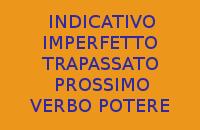 SCRIVERE 10 FRASI ESERCIZI CON IL VERBO POTERE ALL'INDICATIVO IMPERFETTO E TRAPASSATO PROSSIMO