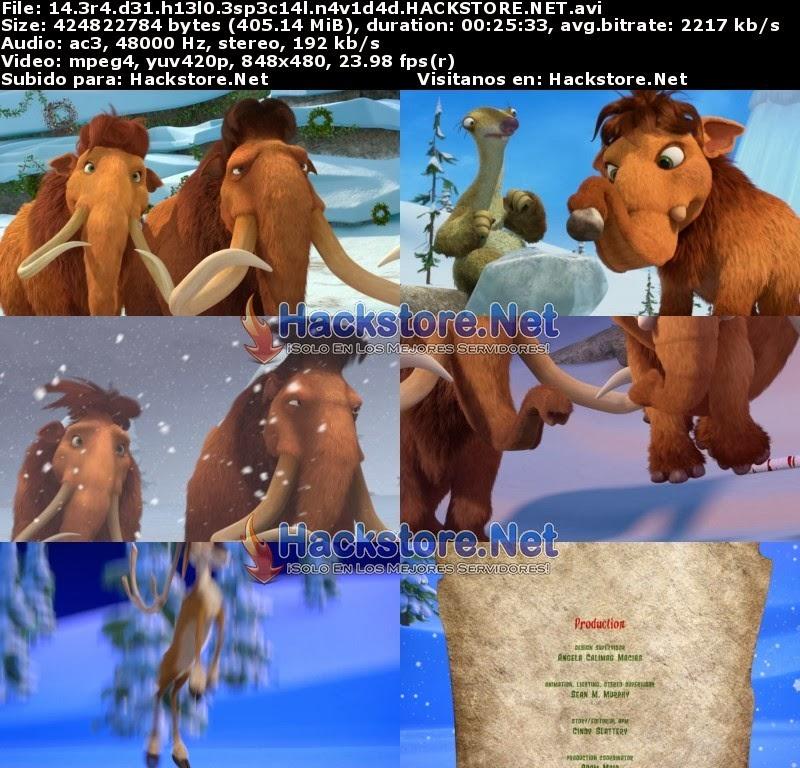 Captura La Era de Hielo: Una Navidad Tamaño Mamut (2011) DVDRip Latino