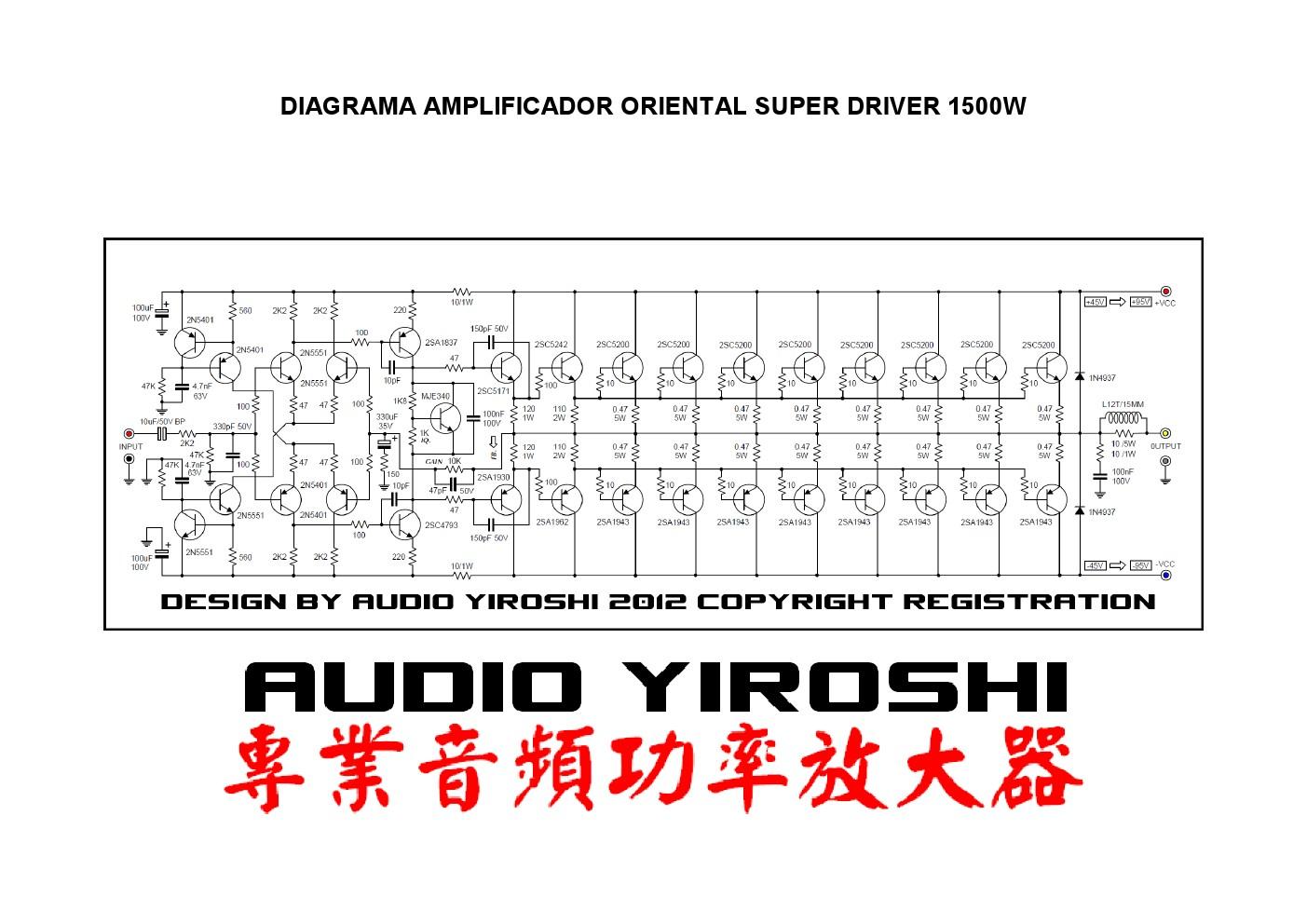Fosti Audio Electronics Project Koleksi Power Amp 1500 Watt High Amplifier