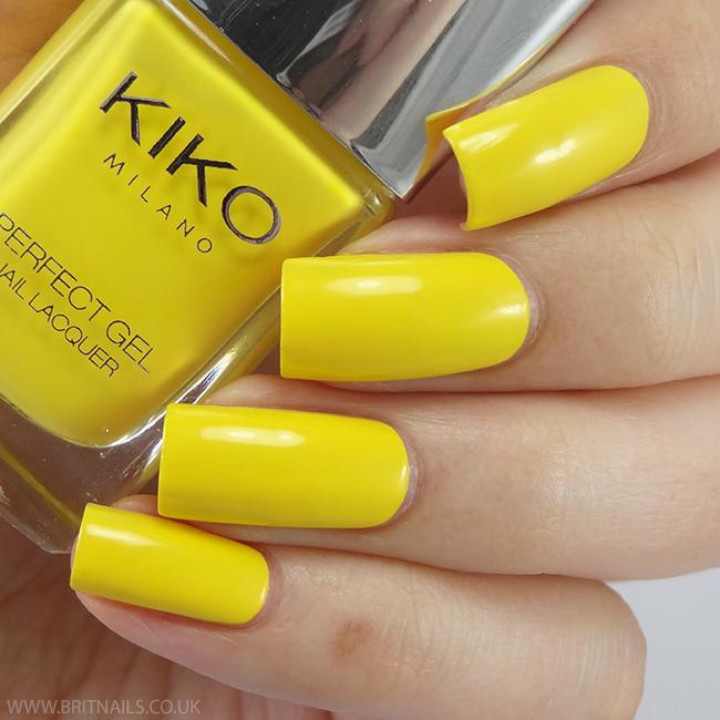 Kiko Perfect Gel Yellow