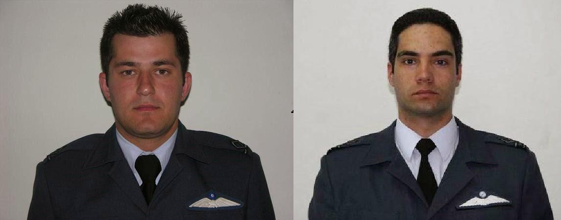 Τριήμερο πένθος στις Ένοπλες Δυνάμεις - Νεκροί δύο Σμηναγοί της Πολεμικής μας Αεροπορίας